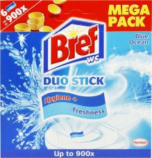 BREF WC BLUE ACTIV DUO PACK 2/1